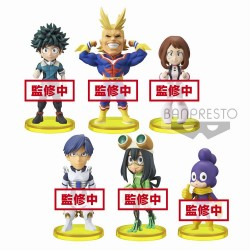 Boku no Hero Academia World Collectable Figure Vol 1 (Banpresto)