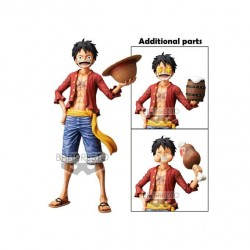 One Piece - Monkey D Luffy - Grandista Nero (Banpresto)