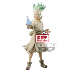 Dr. Stone - Senkuu - FIGURE of STONE WORLD - Kingdom of Science (Bandai Spirits)