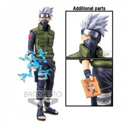 Naruto Shippuuden - Kakashi Hatake - Shinobi Relations - Grandista Nero (Bandai Spirits)