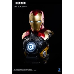 7J Toys Bank - Iron Man MK47 Bust Life Size Scale