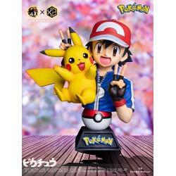 XS Studio x AX Studio - Ash & Pikachu Bust 1/5 Scale Resin Statue