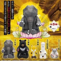 Animal Buddha Mini Figure Collection (Set of 5)