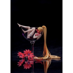 Girl in Glass Lily Wine PVC Figure (Ribose & Myethos)