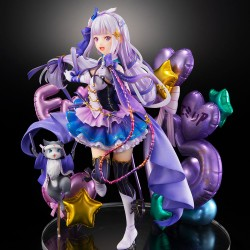 Re:Zero kara Hajimeru Isekai Seikatsu - Emilia - Puck - Shibuya Scramble Figure - 1/7 - Idol Ver (Alpha Satellite, eStream)