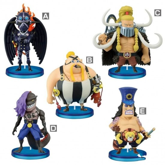 One Piece - Beasts Pirates - World Collectable Figure Set of 5 (Bandai Spirits)