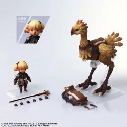 Final Fantasy XI: Bring Arts Shantotto & Chocobo (Square Enix)