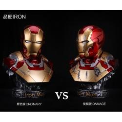 PinJiang Studio - Iron Man MK42 Bust 1/2 Scale