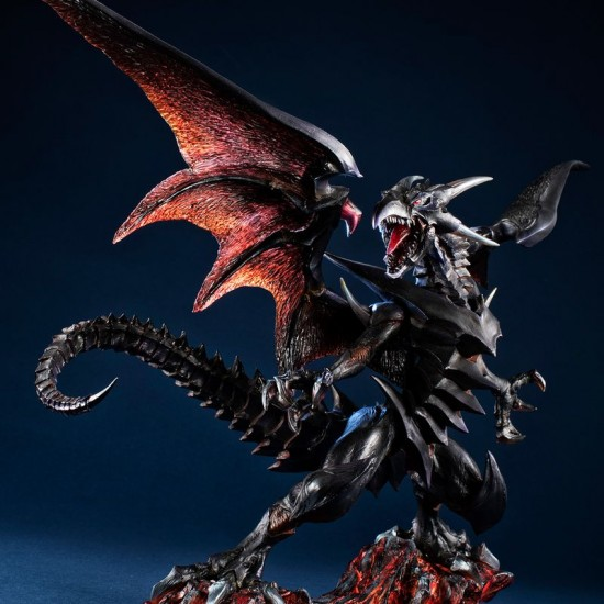 Yu-Gi-Oh! Duel Monsters - Red Eyes Black Dragon - Art Works Monsters (MegaHouse)