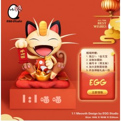 EGG Studio - Meowth 1:1 Life Size Lunar New Year Ver