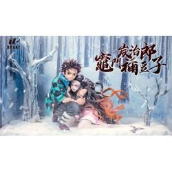 Up Art Studio - Kimetsu no Yaiba - Tanjiro Protect Nezuko