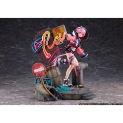 Re:Zero kara Hajimeru Isekai Seikatsu - Ram - Shibuya Scramble Figure - 1/7 - Neon City Ver. (Alpha Satellite, eStream)