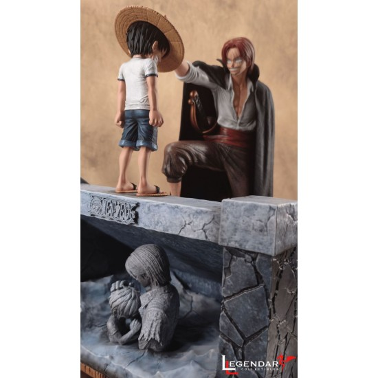 Legendary Collectibles - The Moment Of Inheritance Of Hat: Shanks & Luffy