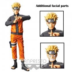 Naruto Shippuuden - Uzumaki Naruto - Shinobi Relations - Grandista Nero (Bandai Spirits)