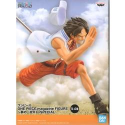 One Piece Magazine Figure - Portgas D. Ace - Yume no Ichimai (Bandai Spirits)