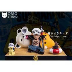 OMO Studio - One Piece WCF - Trafalgar D. Water Law & Bepo