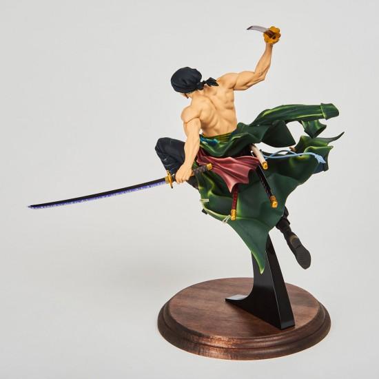 Roronoa Zoro - SCultures - Zoukeiou Choujoukessen World (Banpresto)